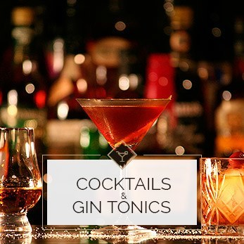 Cocktails & gin tonics