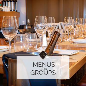 Menus for groups